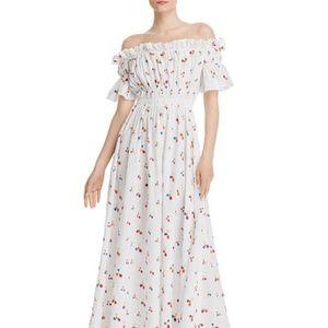 All Things Mochi Nan Off-the-shoulder Maxi Dress